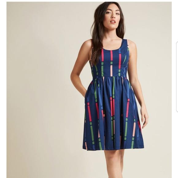311bc3be11 CCO Modcloth Optimistic Effect Dress
